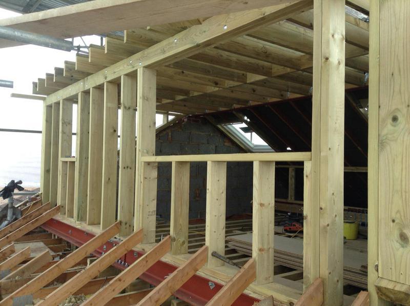 Image 11 - Dormer Windows taking shape. Loft Conversion October 2018