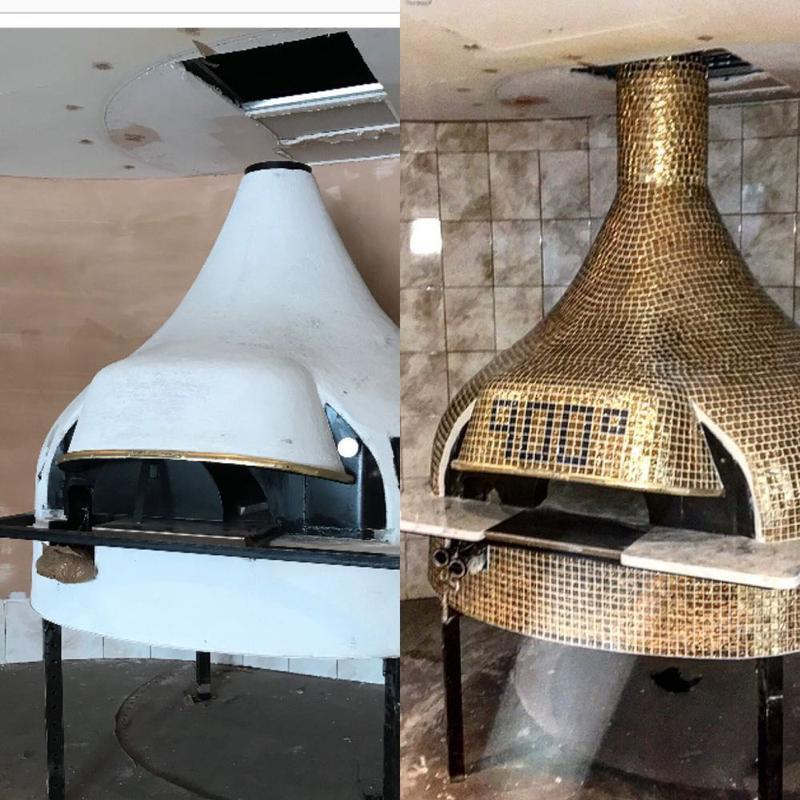 Image 54 - before and after pizza oven