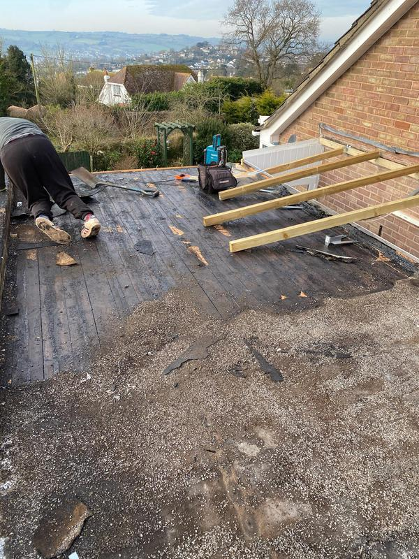 Image 8 - Flat roof and porch leaking so all renewed