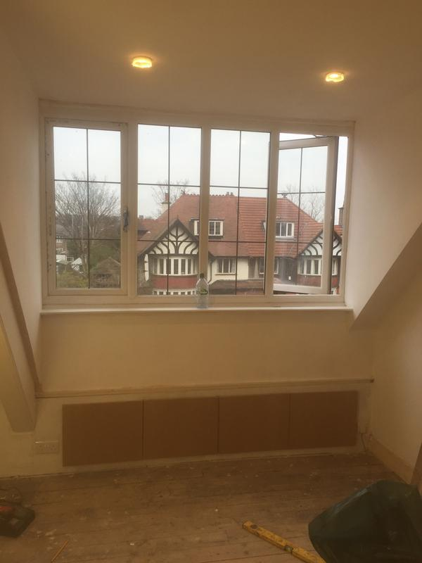 Image 3 - Loft conversion allerton Rd queens Drive cupboards built lighting throughout