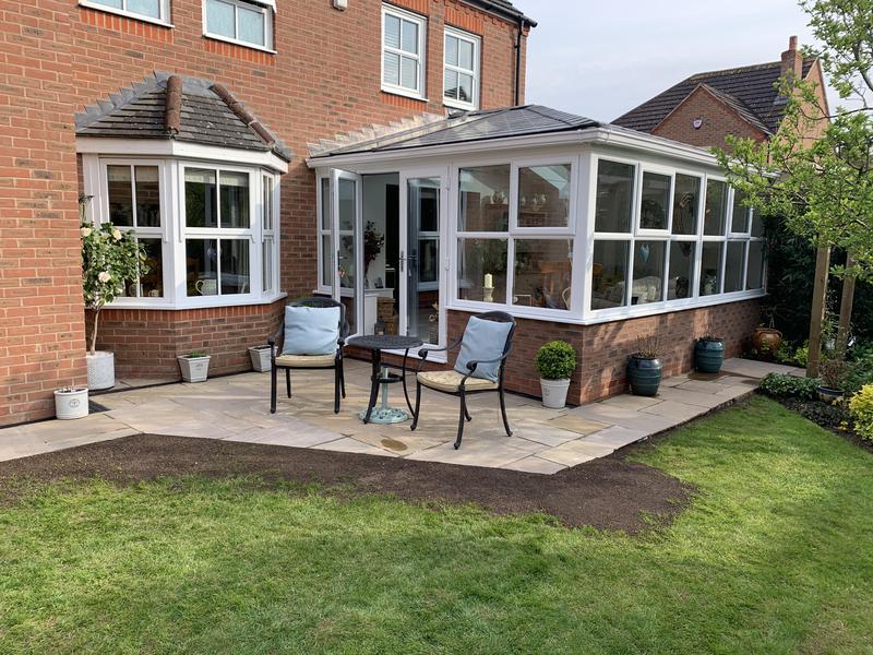 Image 34 - Raj blend natural sandstone patio