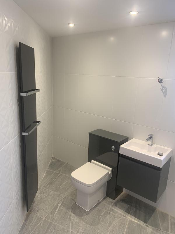 Image 13 - Bathroom installation for a client on a tight budget, wet room was required for the client child.
