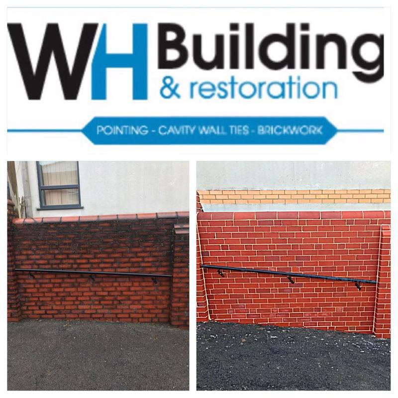 Image 26 - Before & After            Chemical Brick Clean & Re point