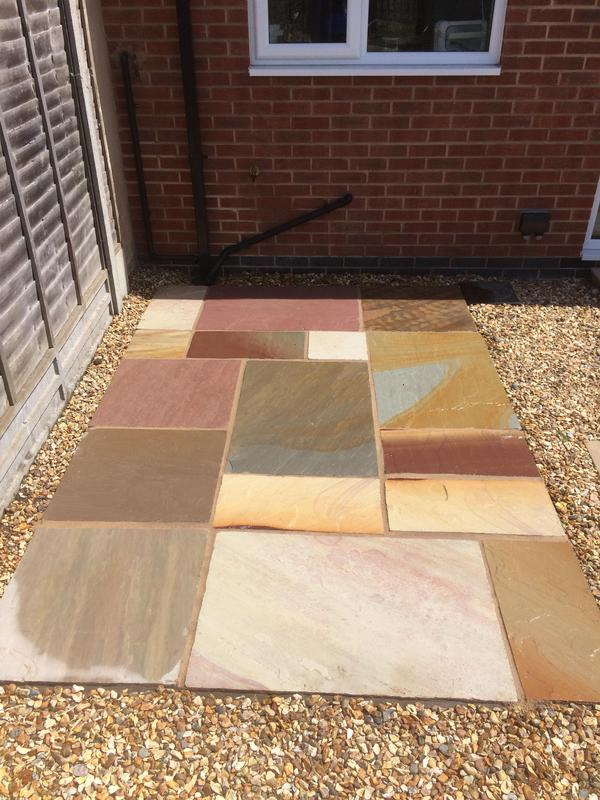 Image 17 - Indian sand stone patio Coventry 2019