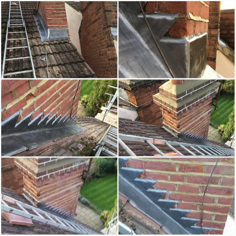 Image 14 - New Lead Works  With A Ten Year Insurance Back Guarantee. Roof repairs Surbiton, Roofers Surbiton.