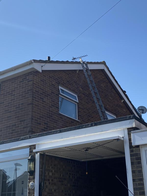 Image 35 - New fascia and soffit installed on the apex