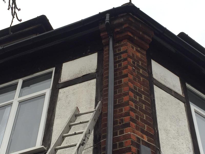 Image 40 - new fascias soffits and guttering and down pipe