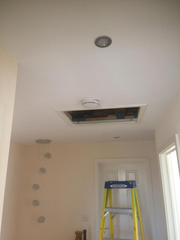 Image 15 - Fitting above stairs and landing installed