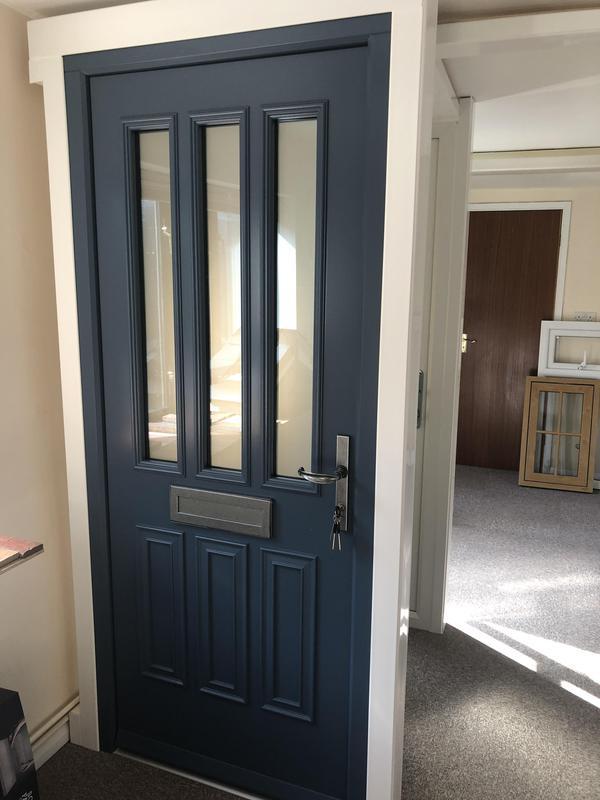 Image 84 - Engineered timber door in our showroom
