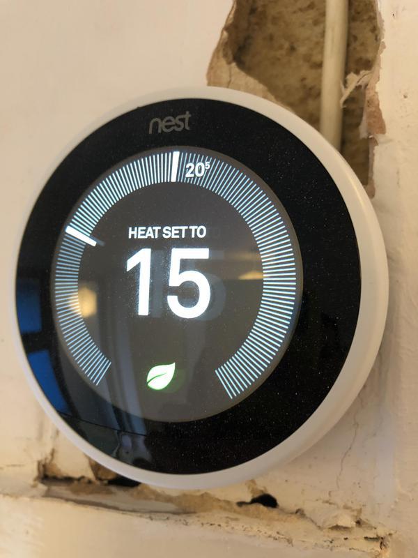Image 49 - Nest smart thermostat installation