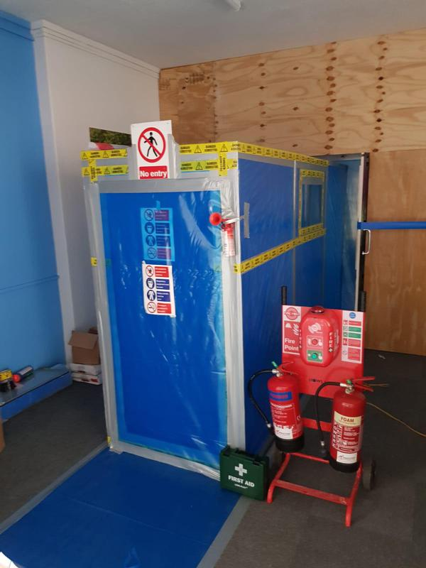 Image 2 - Tidy Enclosure for asbestos removal