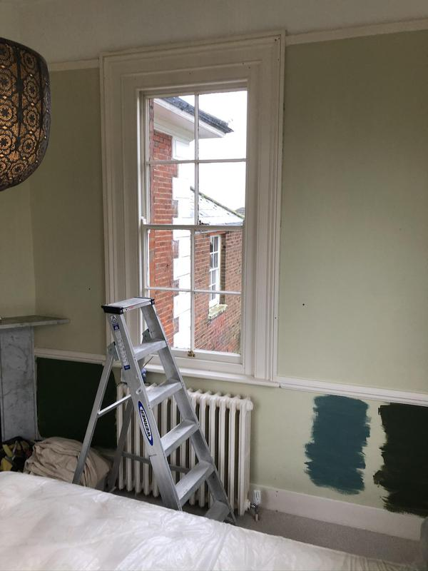 Image 8 - A before shot of a guest bedroom in a grade2 listed Georgian property.