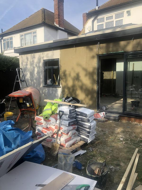 Image 8 - Large house extension before and after pictures.
