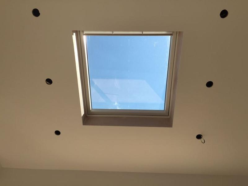 Image 6 - downlights around a velux looks great at night