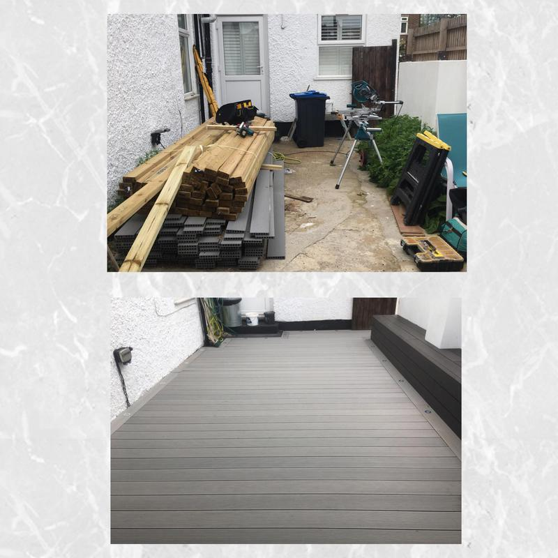 Image 108 - Composite decking install