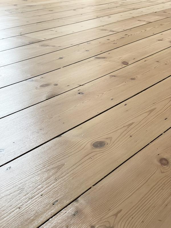 Image 4 - Pine floor restored