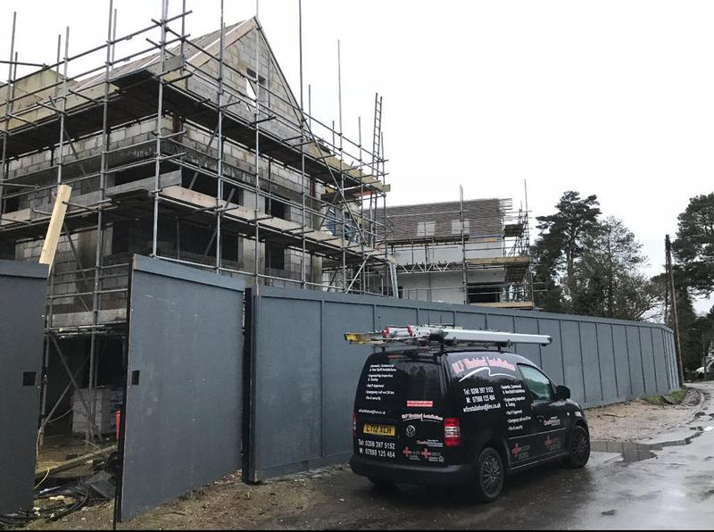 Image 8 - Electrical installation on three new build houses