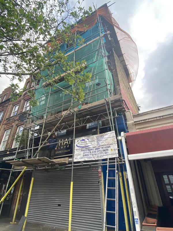 Image 27 - New roof ready to be installed Kilburn high road.