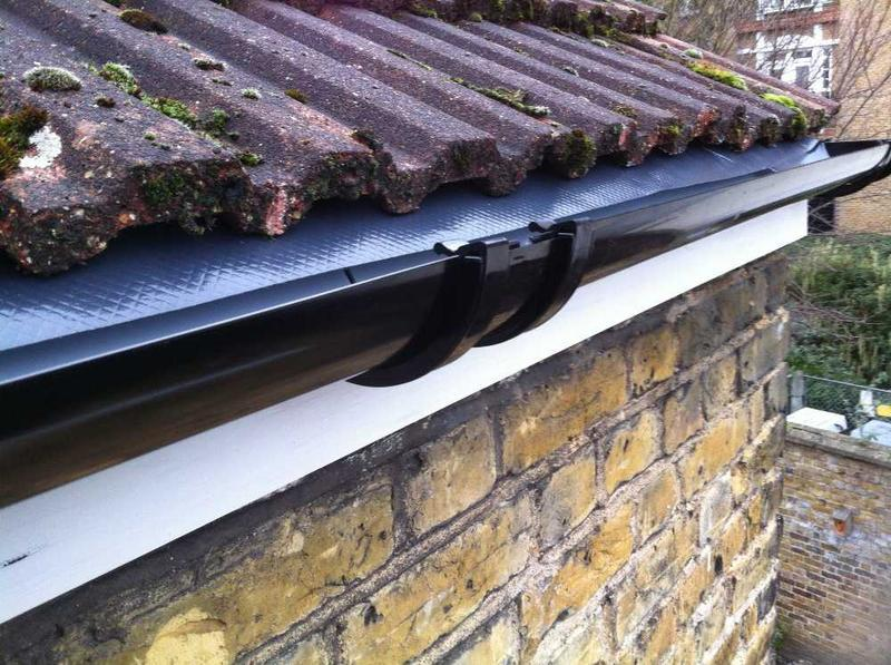 Image 39 - new fascias guttering and drip felt installed