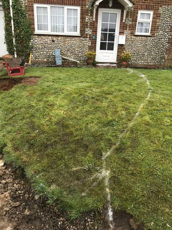 Image 36 - garden and driveway installation in great massingham