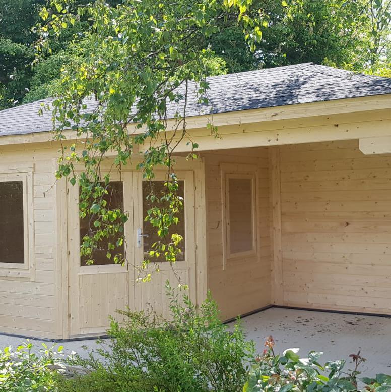 Image 49 - Olsen log cabin.