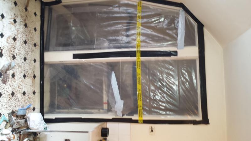 Image 30 - Asbestos Boiler Flue Removal - DURING