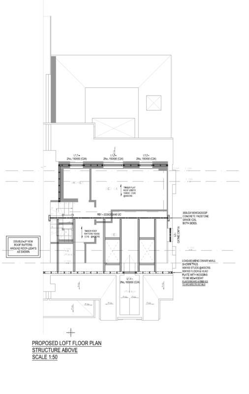 Image 16 - Loft Conversion. Roof Plan. Redbridge. East London.