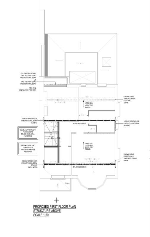 Image 15 - Loft Conversion. Floor Plan. Redbridge. East London.