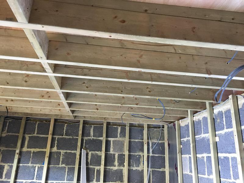 "Image 42 - Ceiling joists 8"" fitted"