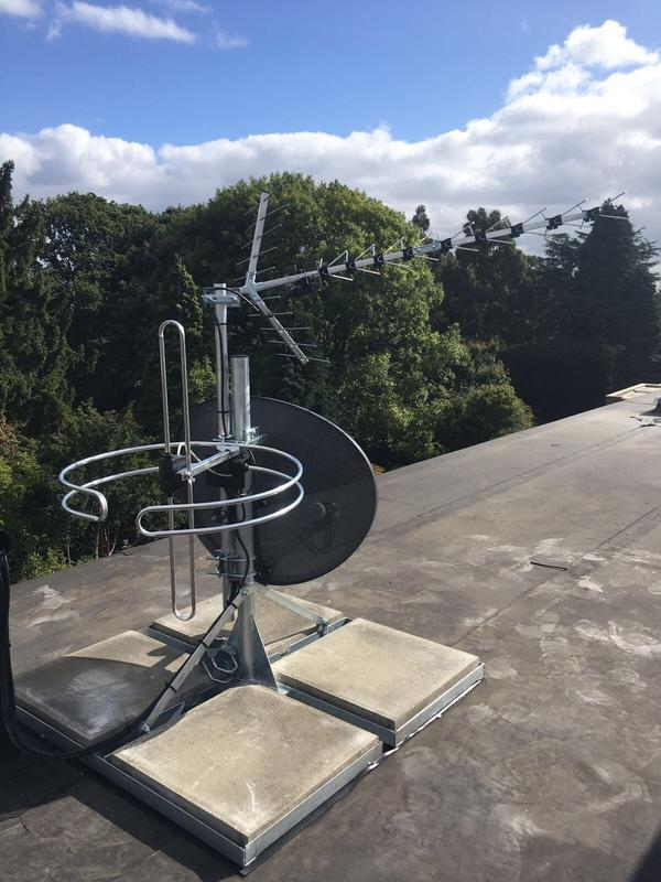 Image 12 - Ground Stand for Freeview, Sky and Radio Aerials