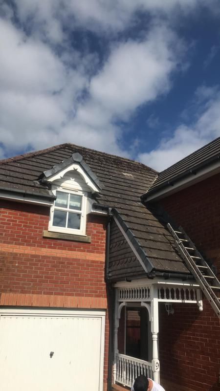 Image 44 - Roof cleaning before