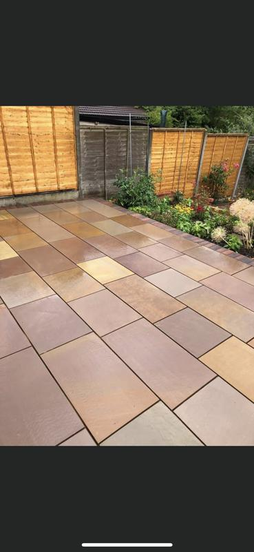 Image 131 - Sandstone patio another beautiful job from total paving five star rated