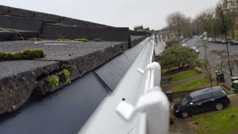 Image 32 - new guttering supplied and fitted with new felt trays