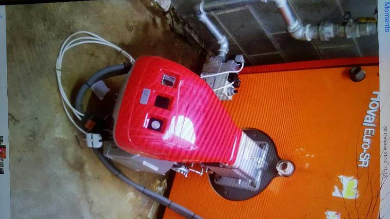 Image 18 - call out to service an LPG riello RS 100 burner on a hovel 600 kw boiler the appliance was isolated due to burner being to large for the appliance aswell as the gas pipework being piped in galvanised steel