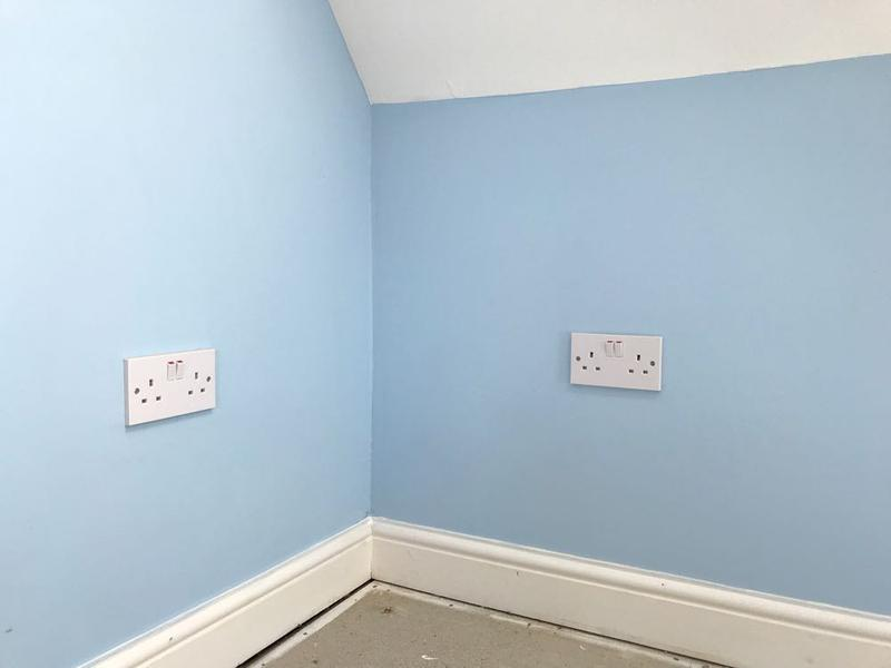Image 107 - extra sockets installed in stevenage