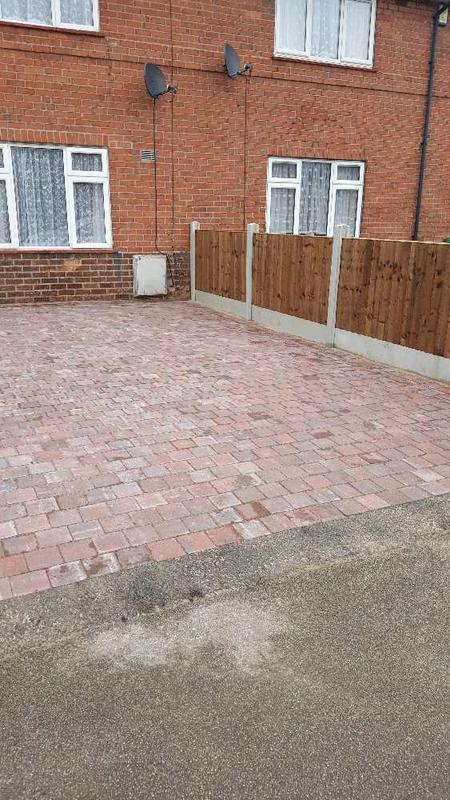 Image 132 - new drive laid in Basford Nottingham