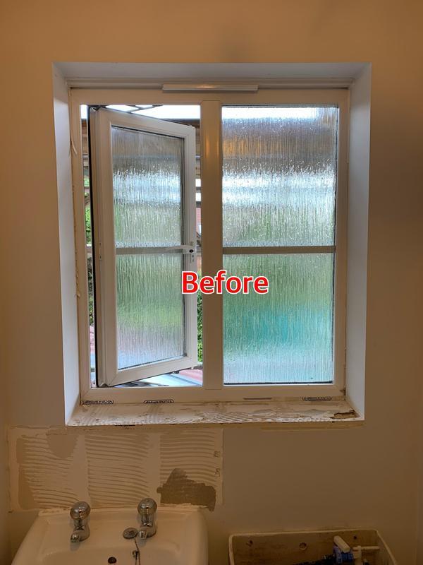 Image 39 - BEFORE. Crayford Bathroom refurbishment