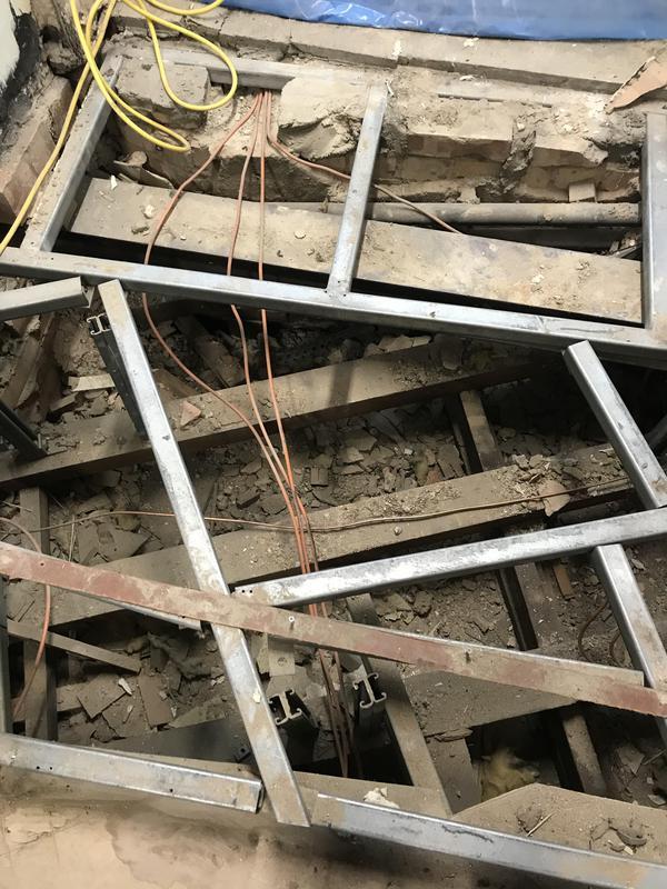 Image 28 - Asbestos debris found