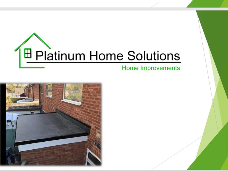 Image 122 - Our flat roofs are to the customers choice, felt or Firestone rubber, we shall give you a no obligated quote on what your requirements are on the day.