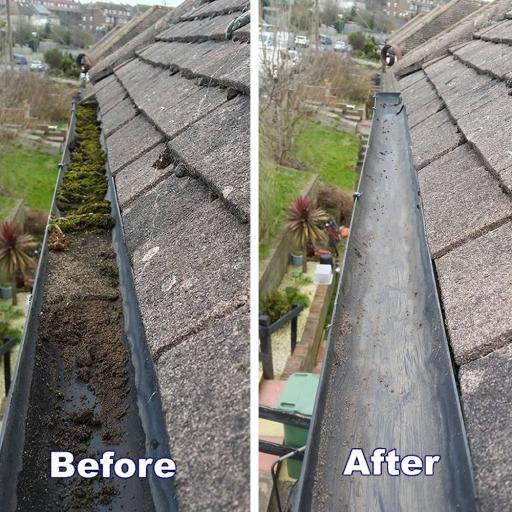 Image 31 - Gutter cleaning