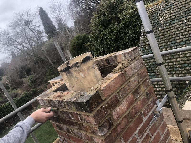 Image 20 - Chimney re build