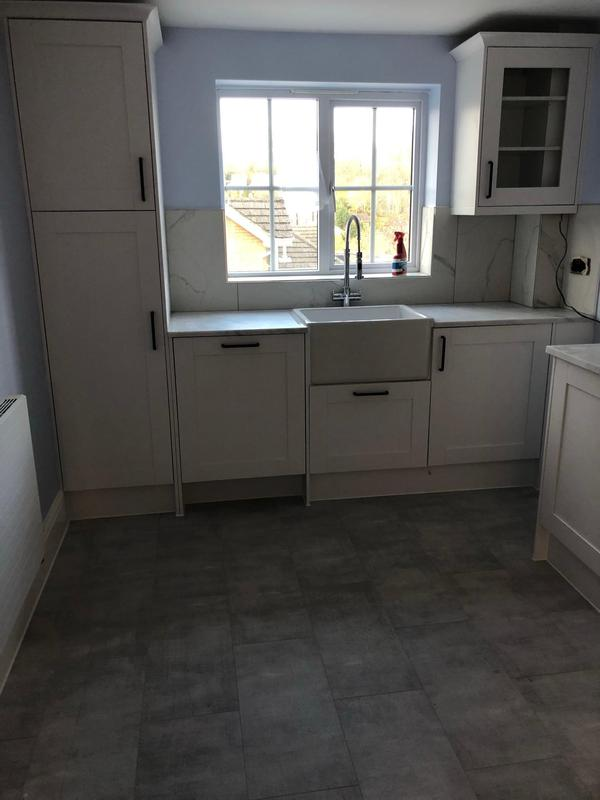 Image 45 - New floor and New kitchen Installation with Quarts worktop