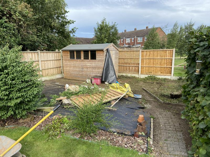 Image 2 - Before rear garden landscape Coventry