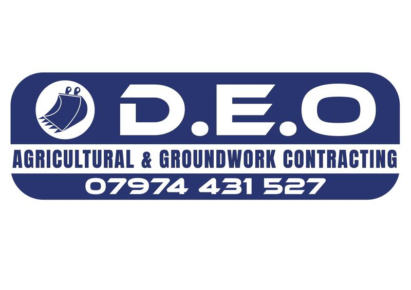 D.E.O Agricultural & Groundwork Contracting logo