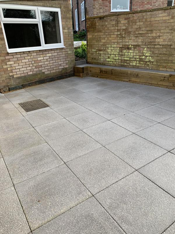 Image 23 - New patio completed