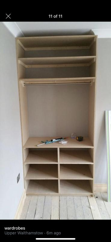 Image 11 - Building a wardrobe from MDF with doors and drawers