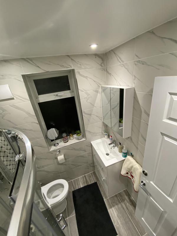 Image 38 - Welling, New shower room.