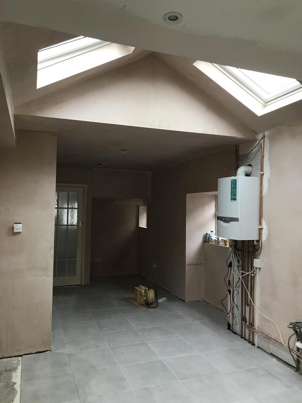 Image 4 - Velux windows are in the roof, the steels are lifted higher than the ceiling line, new boiler fitted and were are making a big difference to this Edwardian property.