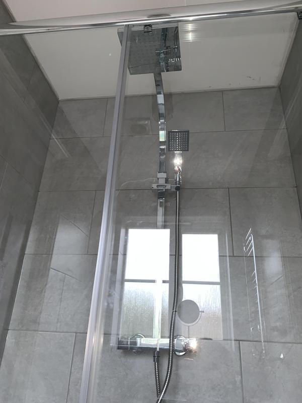 Image 29 - After. Crayford, Bareburn Park. Bathroom refurb. Triton thermostatic shower