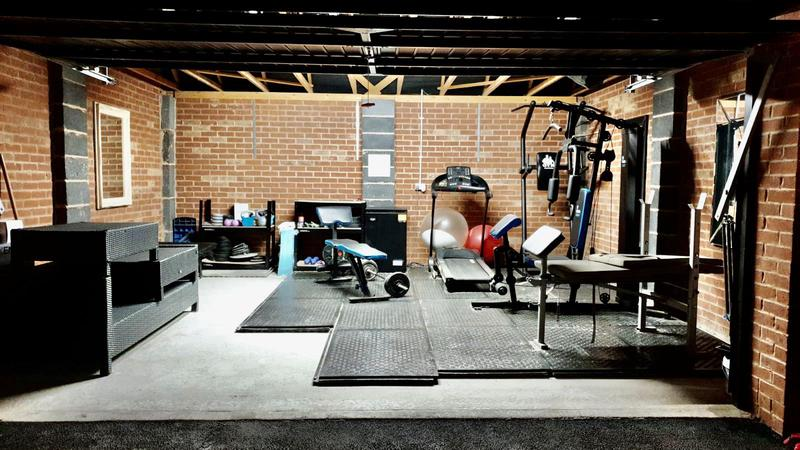 Image 25 - Client garage converted to personal gym. Total clean for personal workout use.